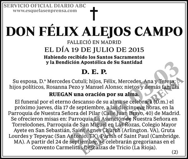Félix Alejos Campo